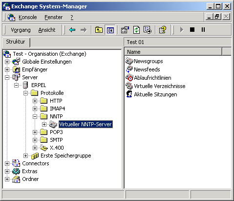 Start Microsoft Exchange System Manager