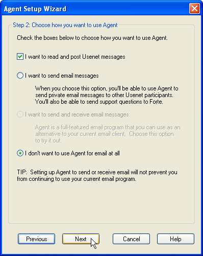 Step 2: Choose how you want to use Agent